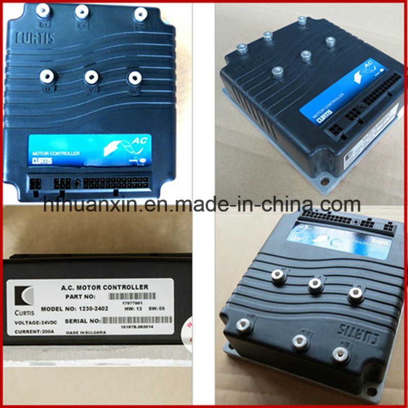 Hot Sale Curtis Remote Programmable AC Motor Controller 1230-2402 24V-200A for Golf Carts