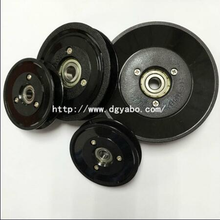 Plastic Ceramic Wire Guide Pulley Apply for Textile Machine