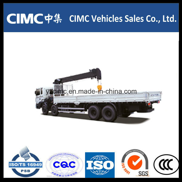 Hyundai Truck Mounted Crane 10-15ton Lifting Capacity