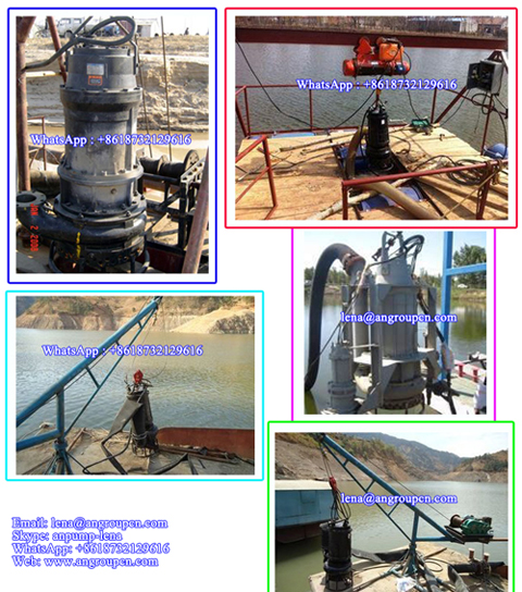 Motor Engine Suck Oil Vertical Mining Sewage Water Submersible Sand Dredging Pump