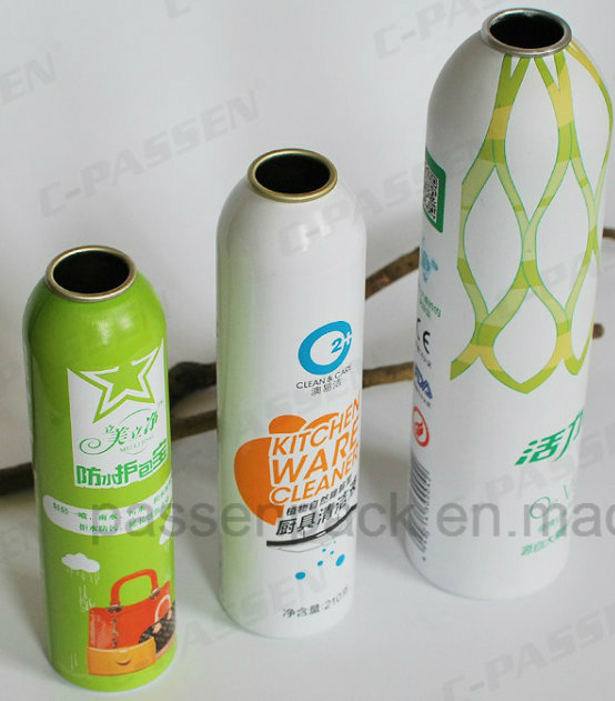 Aluminum Spray Bottle for Cosmetics Mist Aerosol Packaging (PPC-AAC-020)