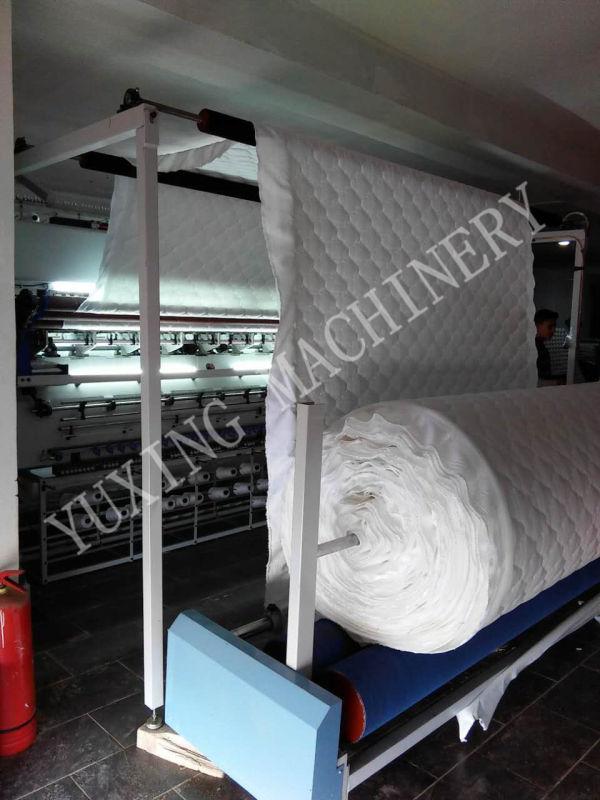 Computerized Chain Stitch (looper/ non-shuttle) Multi-Needle Quilting Machine
