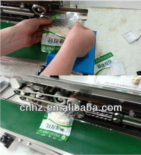 Automatic Bag Sealing Machine with Conveyor Belt