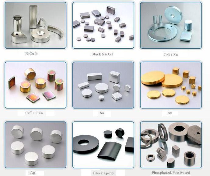 Cylinder Magnets with Ni Coating