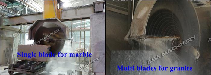 Stone/Marble/Granite Block Cutting Machine (DQ2200/2500/2800)