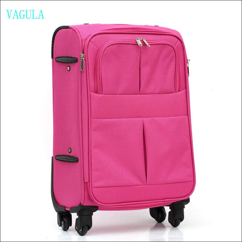 360 Degree VAGULA Trolley Bag Case Baggage Travel Luggage Maletas
