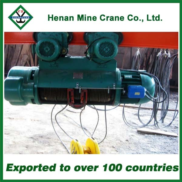 China Single Girder Gantry Crane Hoist 10 Ton