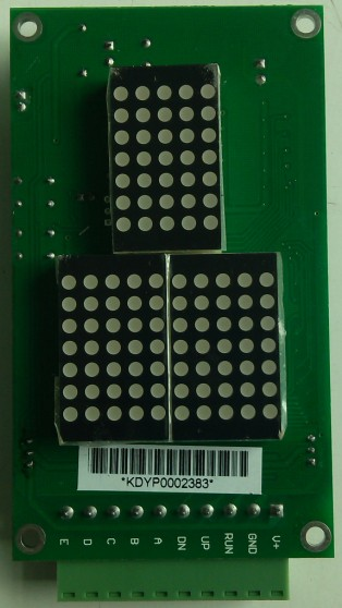 Elevator Parallel Indicator, DOT Matrix Indicator, Lift Indicator (CD342)
