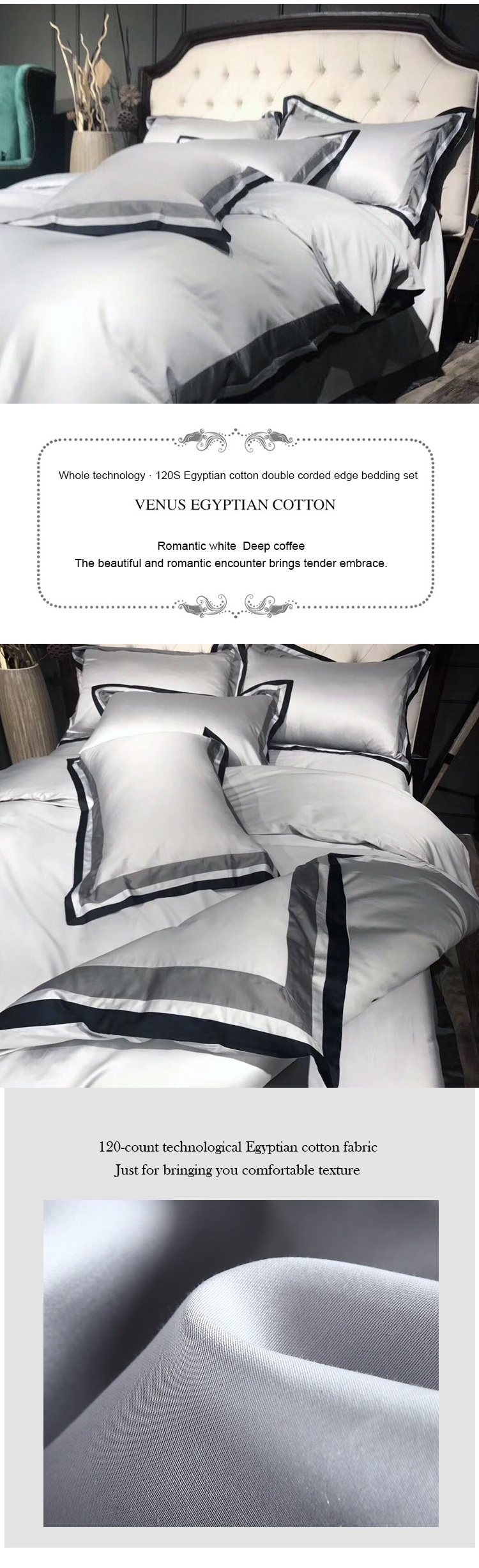 Yrf Satin White Hotel Linen Comforters Bedding Sets
