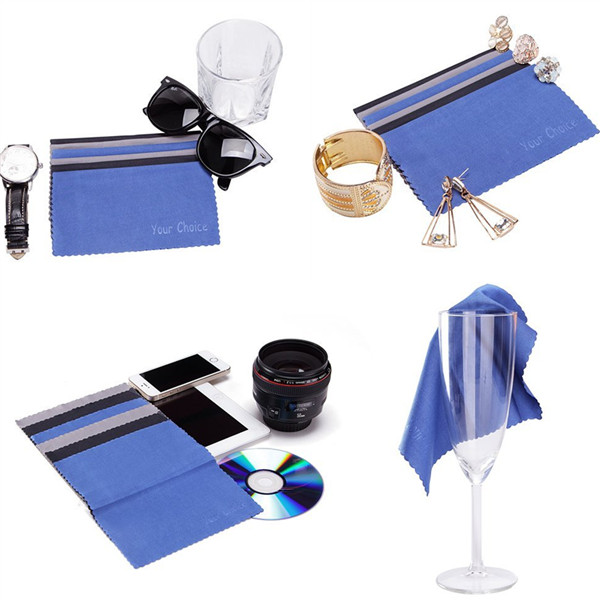 Digital Printing Microfiber Cleaning Cloth for Eyeglasses