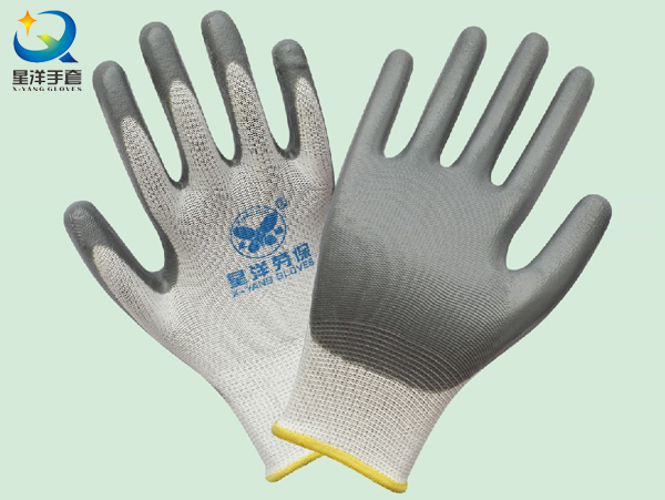 Polyester Shell, Nitrile Coated, Protective Safety Work Glove (N6007)