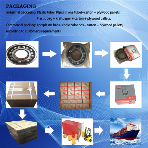 Different Kinds of Machinery Bearing (LB40A-2RS) Nylon Material Cage