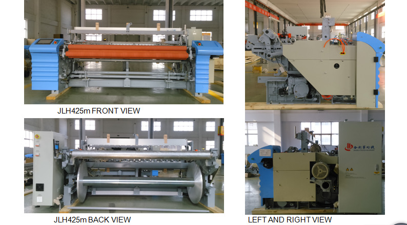 Cheap Automatic Plain Sheeding High Speed Smart Air Jet Loom Machinery
