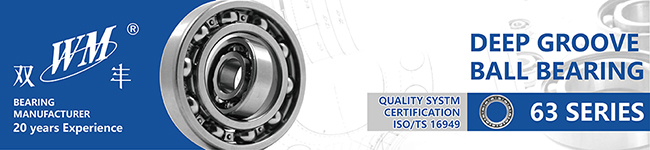 6307 High Temperature High Speed Hybrid Ceramic Ball Bearing