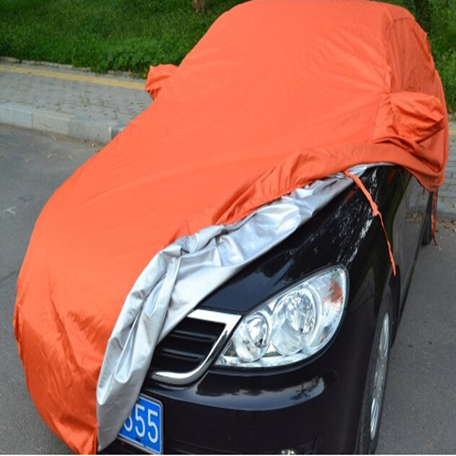 Car Cover of 100% Poly Taffeta with Silver Coated