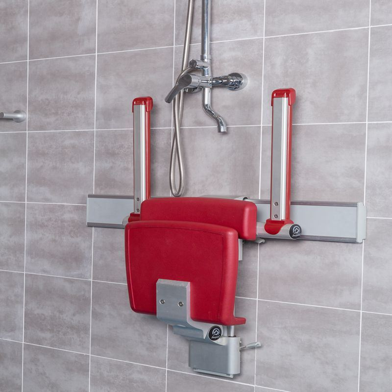 Bath Shower Chair Make of Aluminum with Backrest