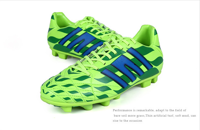 Male Money Grip Antiskid Football Shoes 07