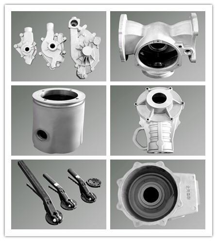 OEM Manufacturer Gravity Casting Aluminum Water Pump Housing