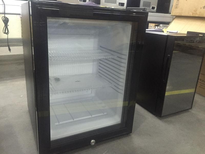 Hotel Minibars Mini Glass Door Refrigerator with Lock