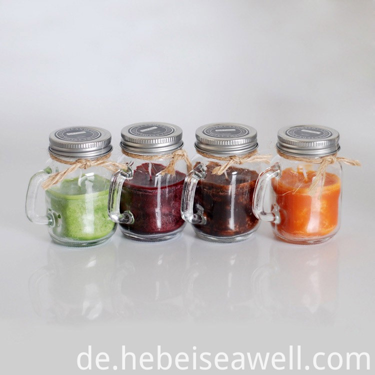 Scented Mason Jar Candles