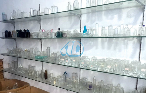 Ad-L3 Transparent Spray Glass Perfume Vial Bottle