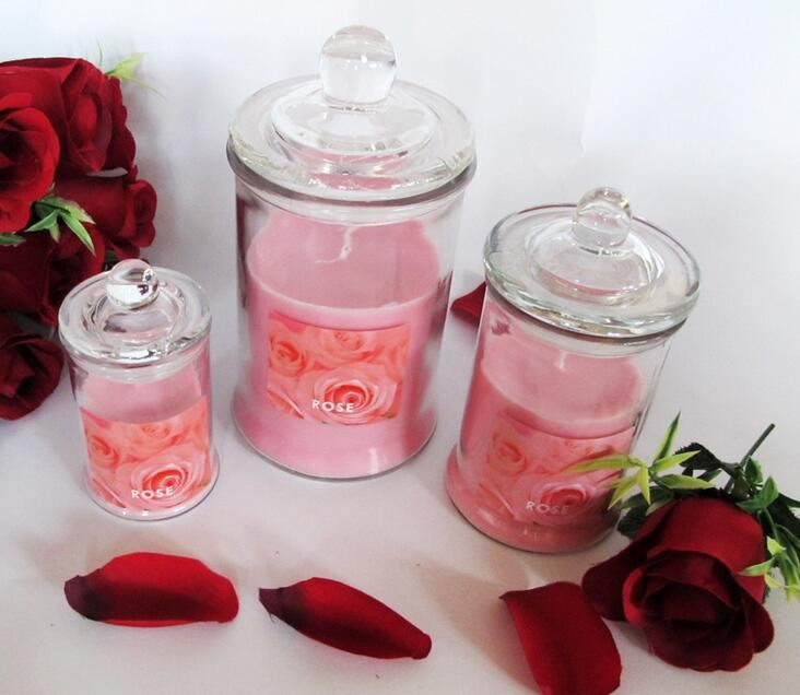 Glass Jar Fragrance Candles