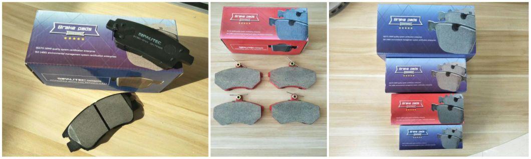 Auto Spare Car Parts Ceramic/Semi-Metal Cby0-33-28z/G5y6-33-23z Brake Pad