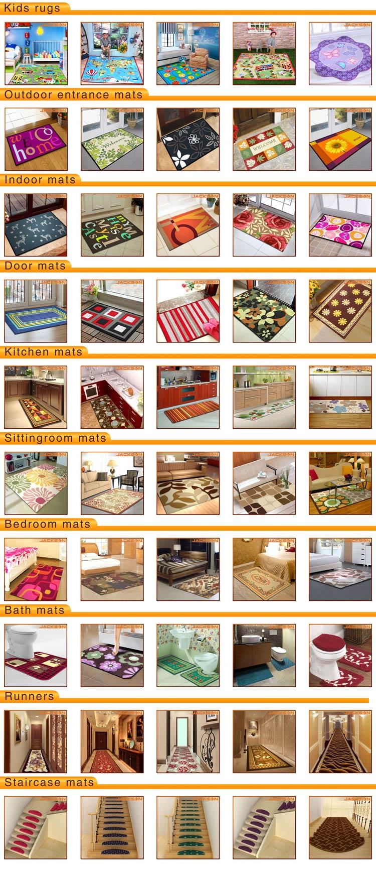 Customized Printed Soft Chilren Carpet