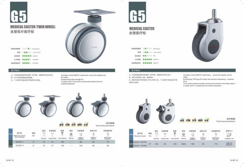 Medical Caster Wheel Without Brake (G5301)