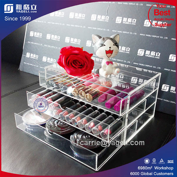Factory Supply Cheaper Price Acrylic Lipstick Holder