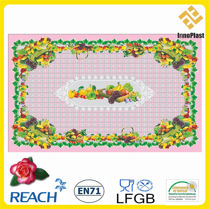 New Design PVC Transparent All-in-One Tablecloth