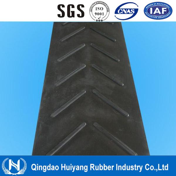 2016 Standard Abrasion Resistant Industrial Ep Chevron Conveyor Belt