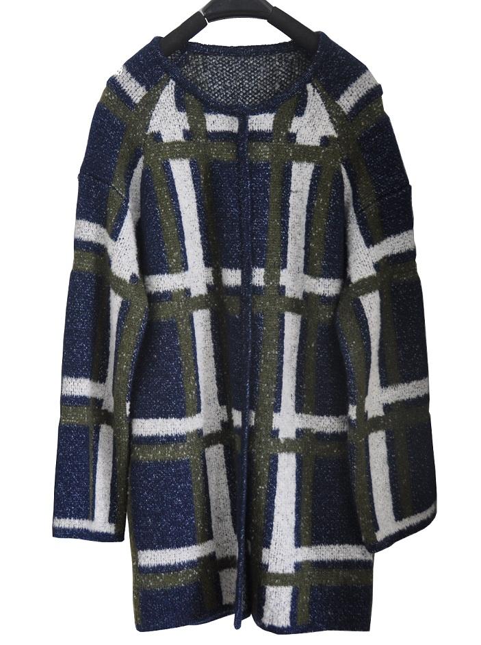 Ladies Winter Cardigan Long Knit Sweater Garment