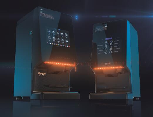 Dynamic Touch screen Bean to Cup Coffee Machine