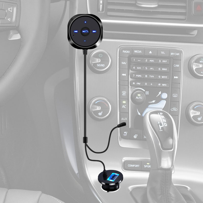 Wireless Handsfree Audio Adapter Bluetooth for Car