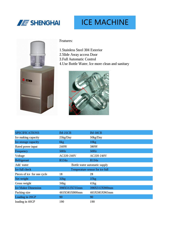 Water Dispenser Ice Maker
