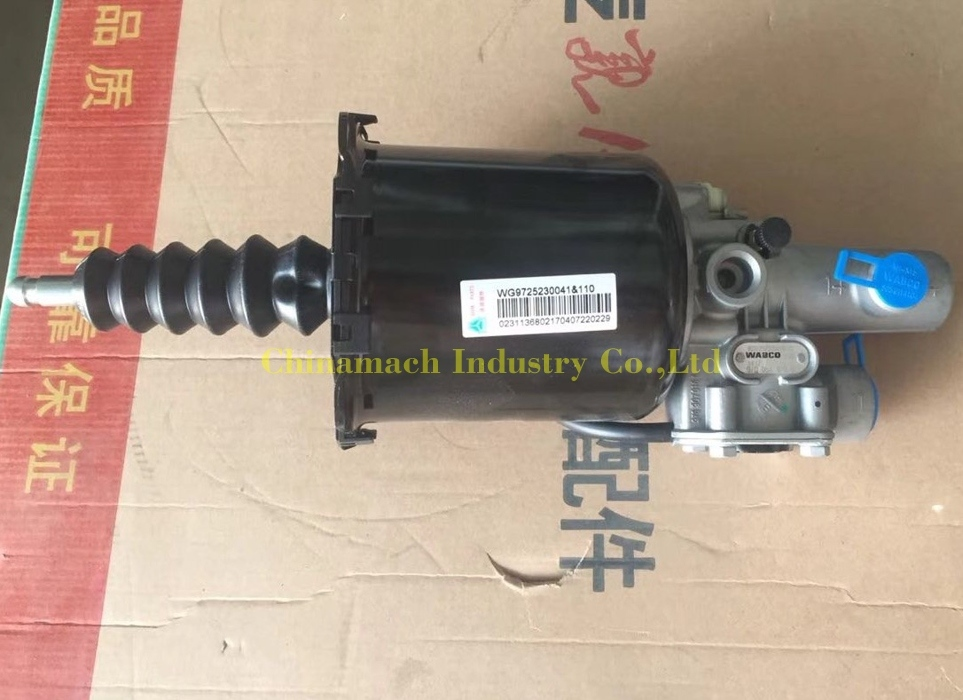Clutch Cylinder 110mm HOWO Part Clutch Booster for Sinotruk (WG9725230041)