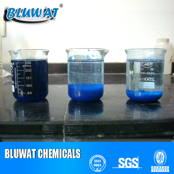Bluwat Bwd-01 Strong Decoloring Agent Coagulant for Waste Water Treatment