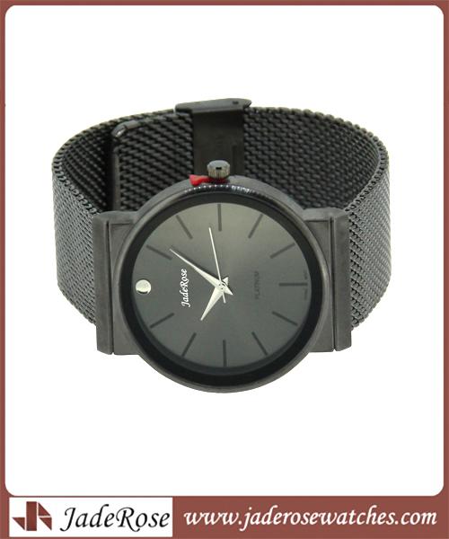Mesh Gift Alloy Waterproof Men's Wrist Watch