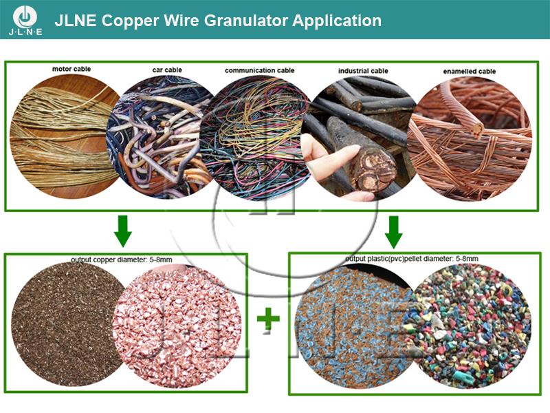Scrap Copper Wire Granulator Separator Machine for Sale
