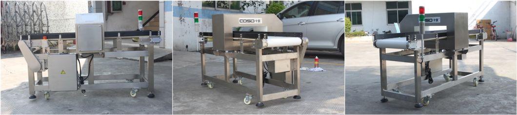 Food Grade Touch Screen Conveyor Metal Detector Machine for Sale