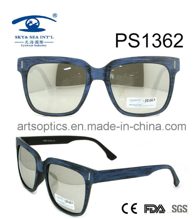 2017 Super Quality Hot Sell Plastic Sunglasses (PS1362)
