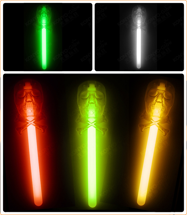 Halloween Series Stick - Glow Skull Stick