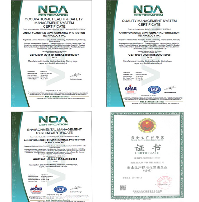 Dust Collector Nonwoven PPS Filter Bag for Asphalt Plant