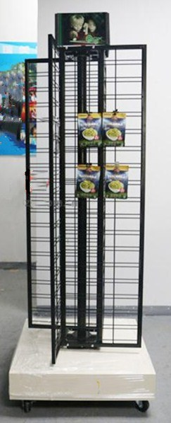 Triangle & 3-Side Spinning Wire Rack (AD-130601)