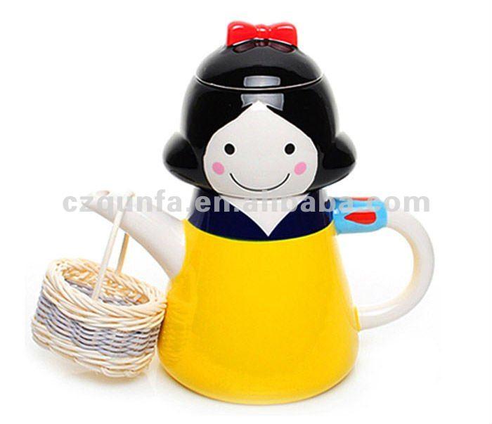 Snow White Teapot