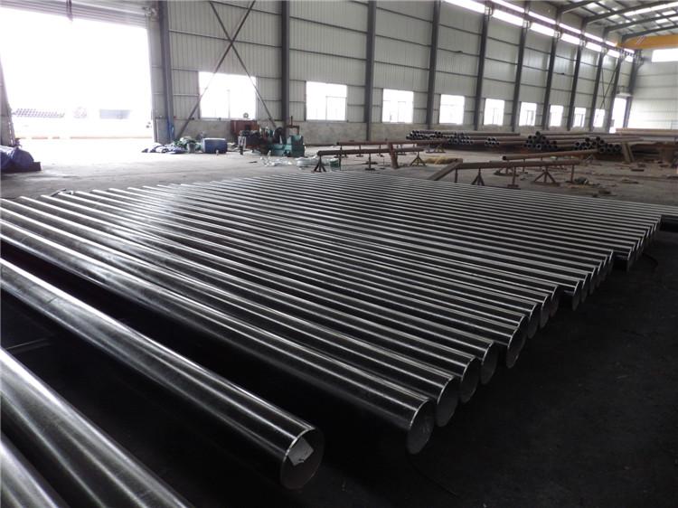 Export 3lpe 3PE Interior Epoxy Coating LSAW Steel Pipe