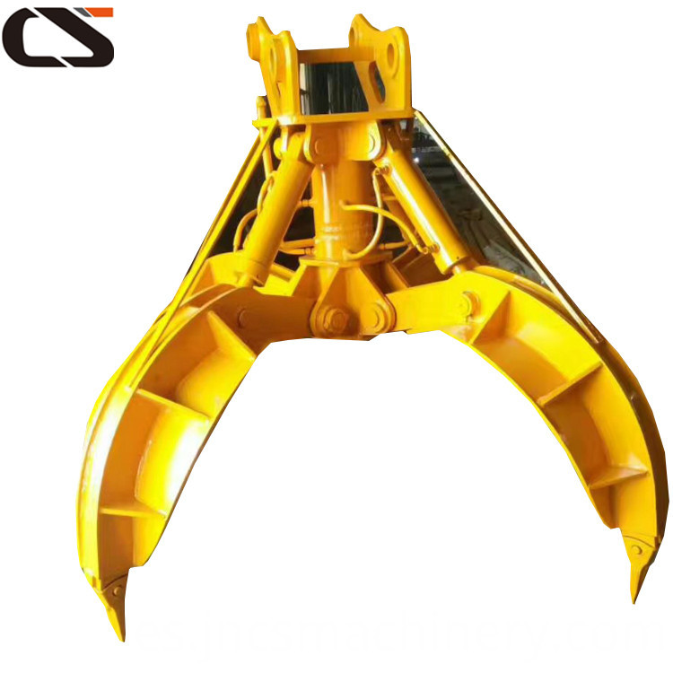 20ton 24ton Excavator attachment rotating peel grapple