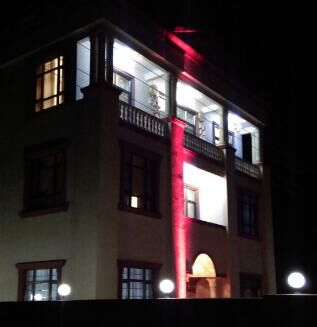 10W-200W Outdoor Narrow Beam LED Floodlight for Building Lighting