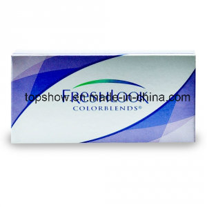 Freshlook Colored Contact Lenses Wholesale Fashion Cheap Three Tone Coloured Contact Lens From China